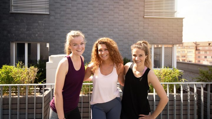 Outdoor Trainingsbereich AuraVita Health Club Rapperswil