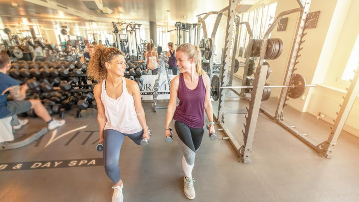 Krafttraining AuraVita Health Club Rapperswil