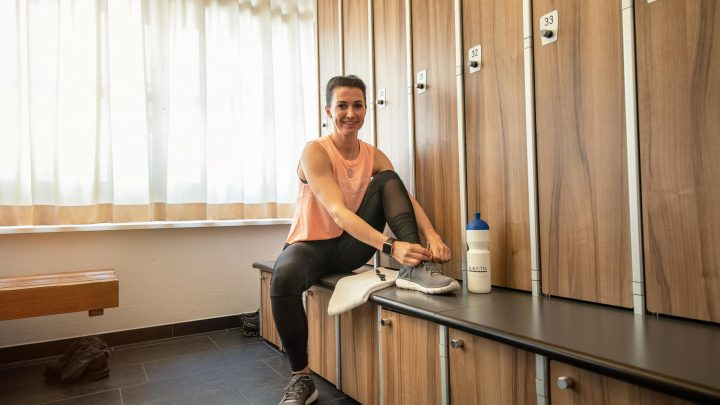 Garderobe AuraVita Health Club Rapperswil