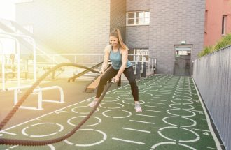 Outdoor Training AuraVita Health Club Rapperswil