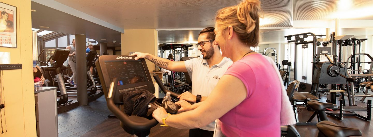 Personaltraining AuraVita Health Club Rapperswil